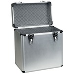 "Aluminium 12"" vinyl flight case"
