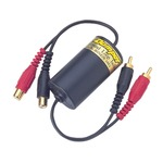 Ground loop isolator for use in car, professional and domestic audio systems. designed to isolate the ground between source...